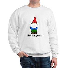 """kiss my grass"" Sweatshirt"