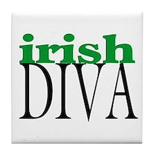 Irish Diva Tile Coaster