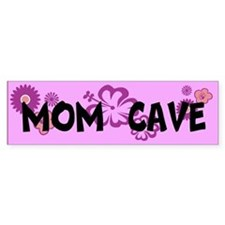 MOM CAVE Bumper Sticker
