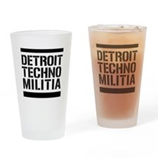 Detroit Techno Militia Beer Glass
