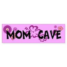 MOM CAVE Bumper Sticker