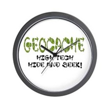 Geocache Wall Clock