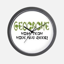 Geocache Wall Clock