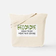 Geocache Tote Bag