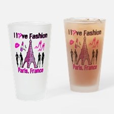 FRENCH FASHION Drinking Glass