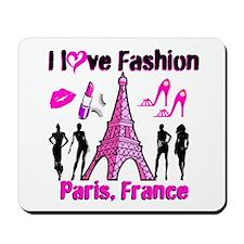 FRENCH FASHION Mousepad