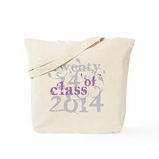 Swirly Class of 2014 Tote Bag