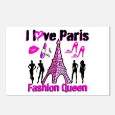 COUTURE QUEEN Postcards (Package of 8)