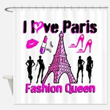 COUTURE QUEEN Shower Curtain