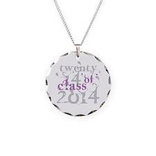 Swirly Class of 2014 Necklace