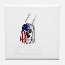 FALLEN HEROES Tile Coaster