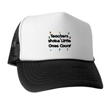 Teacher Count Trucker Hat
