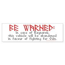 Ragnarok Bumper Bumper Sticker
