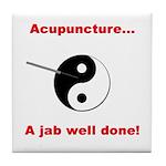 """Acupuncture"" Tile Coaster"