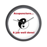 """""""Acupuncture"""" Wall Clock"""