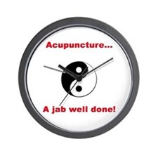 """Acupuncture"" Wall Clock"