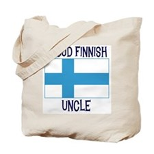 Proud Finnish Uncle Tote Bag