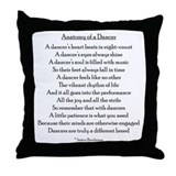Dance Throw Pillows