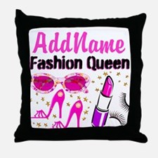 FASHION QUEEN Throw Pillow