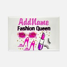 FASHION QUEEN Rectangle Magnet