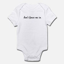 Don't Fence Me In Infant Bodysuit