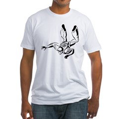 Skydiver Fitted T-Shirt