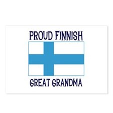Finnish Great Grandma Postcards (Package of 8)
