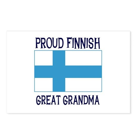 Finnish Great Grandma Postcards (Package of 8)