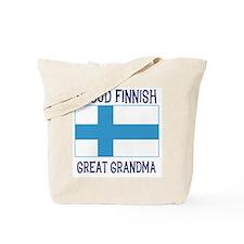 Finnish Great Grandma Tote Bag