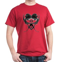 Masonic eagles over dragons T-Shirt