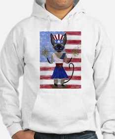 Siamese Queen of the USA Hoodie