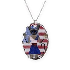 Siamese Queen of the USA Necklace