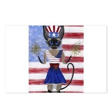 Siamese Queen of the USA Postcards (Package of 8)