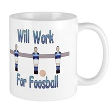 Mug   - Will Work for Foosball - Bonzini