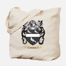 Paige Coat of Arms (Family Crest) Tote Bag