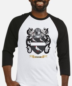 Paige Coat of Arms (Family Crest) Baseball Jersey
