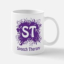 Speech Splash - purple Mug