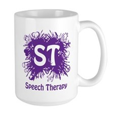 Speech Splash - purple Mug