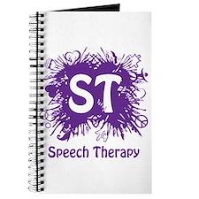 Speech Splash - purple Journal