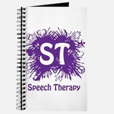Speech Splash - purple Journal