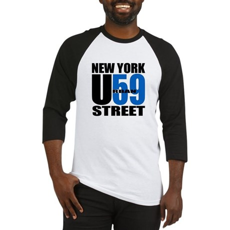 NYC Street Urban59 (Black & B Baseball Jersey