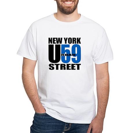 NYC Street Urban59 (Black & B White T-Shirt