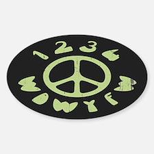 WDWYFW Sticker (Oval)