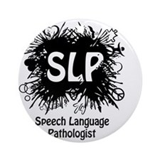 SLP Splash Round Ornament