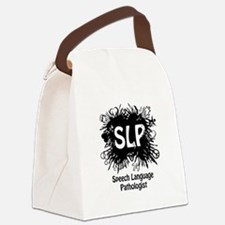 SLP Splash - Black Canvas Lunch Bag