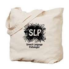 SLP Splash - Black Tote Bag