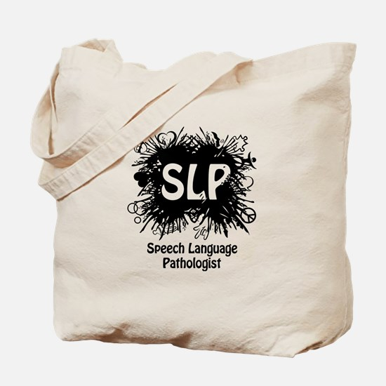 SLP Splash - Black Tote Bag