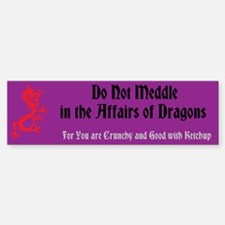 Affairs of Dragons - Sticker (Bumper)