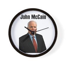 John McCain Wall Clock