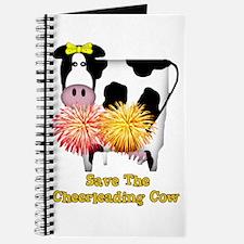 Cheerleading Cow Journal